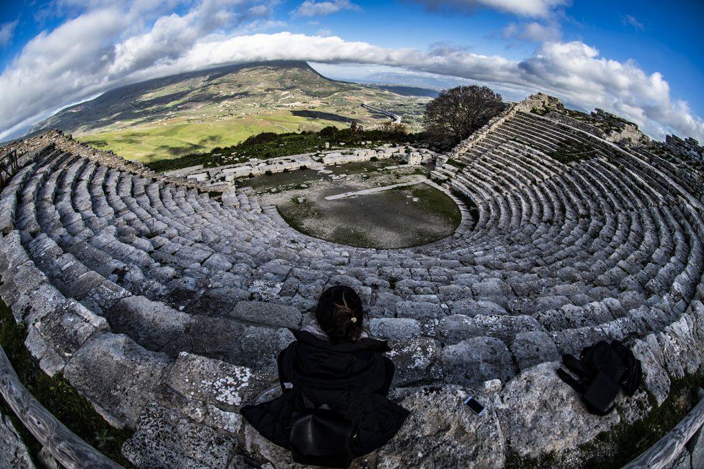 Teatro di Segesta, Eva a Teatro