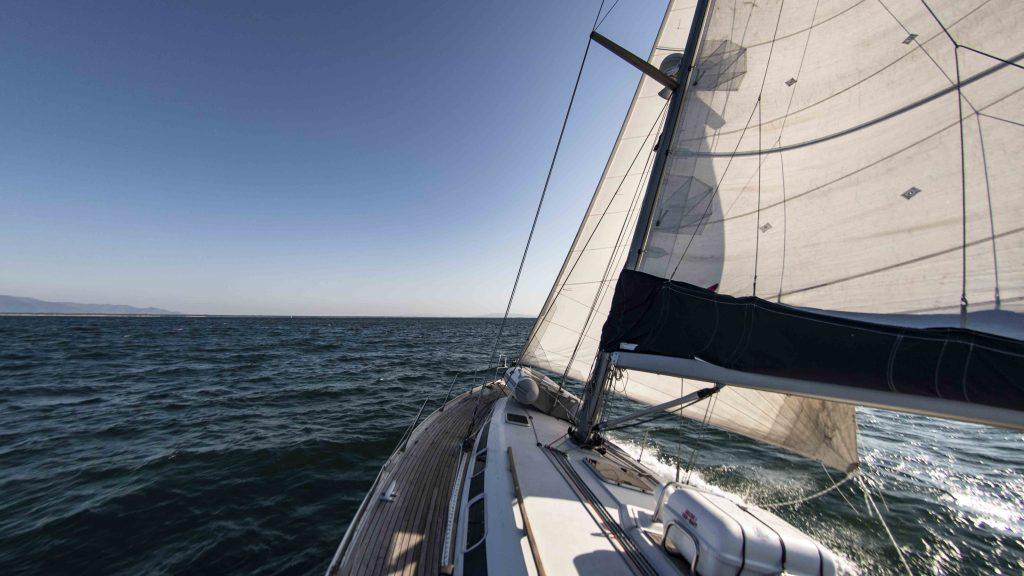 navigazione in barca a vela