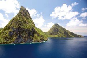 Monti pitons a St lucia
