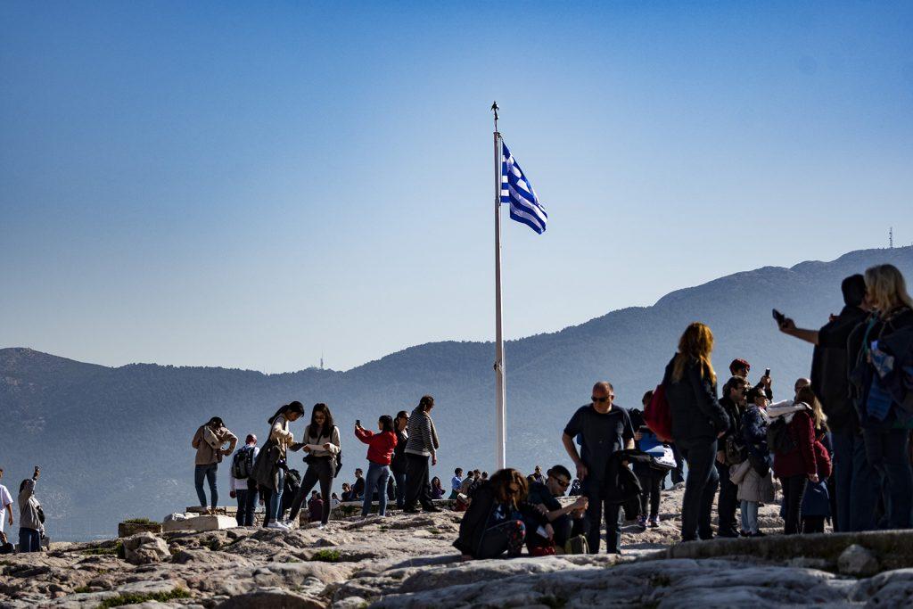 Acropoli di Atene. Vacanza in barca a vela