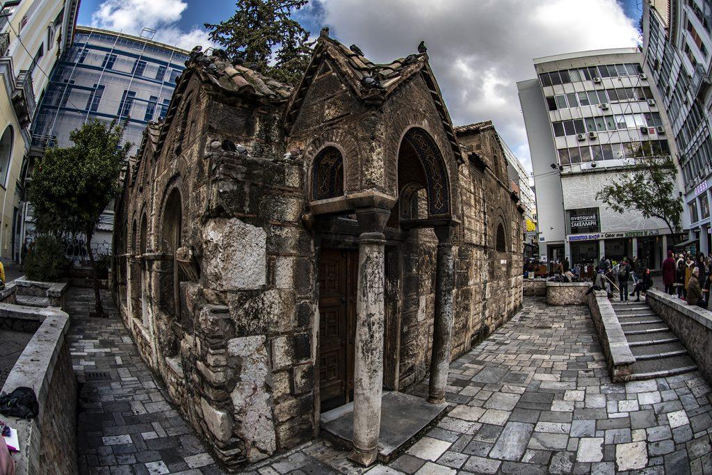 Athene, centro storico. Vacanza in barca a vela