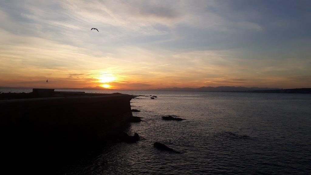 tramonto su Tabarca
