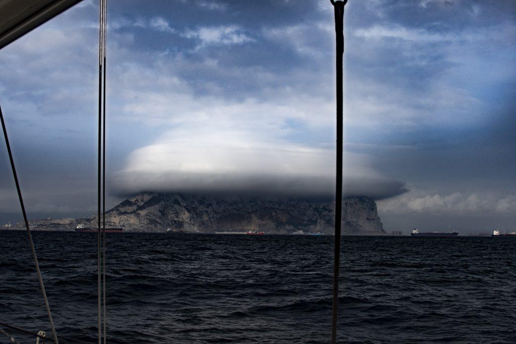 Gibraltar-la roca Gibilterra porta dell'Atlantico